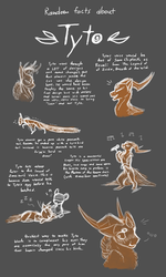 Random Facts About Tyto (EVOLOONS) by CoffeeAddictedDragon