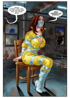 April O'Neil - Warehouse Hostage by April6News