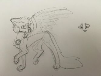 canine character thing by tinycloud247