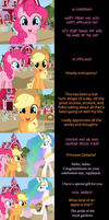 Pinkie Pie Says Goodnight: Apple Core by MLP-Silver-Quill