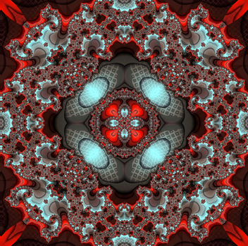 UFO (Unidentified Flying Object) Caleidoscope 10a by ivankorsario