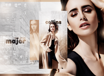 Lily Jane Collins by RoselXo