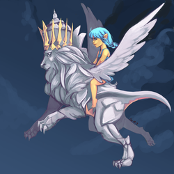 Day 60: Mount that isn't a Mount yet 2.0 by ro-chan