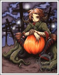.: OC- Hallow Nightshade 1 :. by Chernobylpets