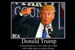 Donald Trump Demotivator by Party9999999