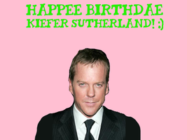 Happy Birthday Kiefer Sutherland! by Nolan2001