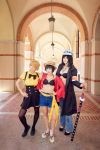 Sanji, Luffy, Law Genderbend One Piece Cosplay by firecloak