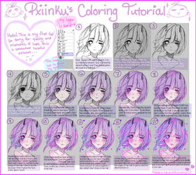Coloring Tutorial (Sketchy Version) by Aimarina