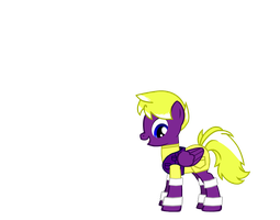 Me with c lothes Rarity gave me edited by HappyMcDull