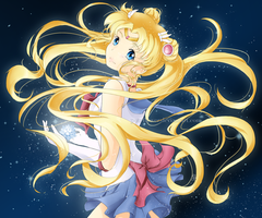 Sailor Moon Crystal by PearFlower