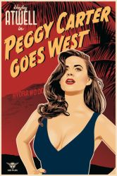 Peggy Carter Goes West by ratscape