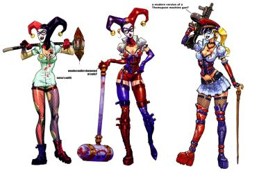Harley incarnations by Chuckdee