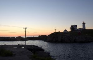 At Sunrise, Nubble Light 5 by Miss-Tbones