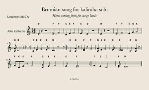 Brumian song Progress by LaughtonMcCry