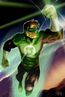 Green Lantern by johnnymorbius