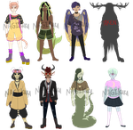 REDUCED $ !Monster Boy Point Adopts(7/8 OPEN) by nagikura