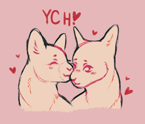 {CLOSED} Valentine's Day YCH auction!! by Mogire
