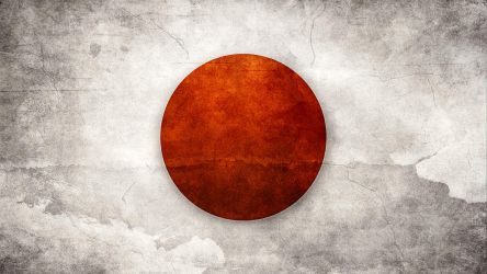 Japan Flag by think0