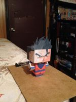 Ultimate Gohan CubeeCraft by SuperVegeta71290