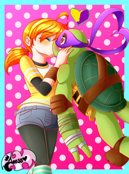 Abril and Donnie by JaessJinx