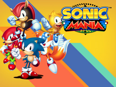 Sonic Mania Plus Wallpaper For iPad Mini 4 V.1 by ArtificialGreninja