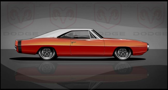 1970 Dodge Charger Toon Update by Wrofee