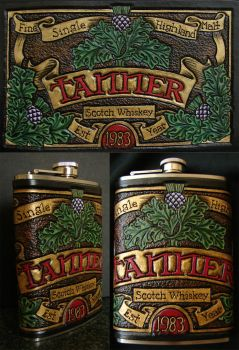 Tanner Scotch Flask by ElVaqueroMuerto