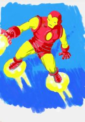 Galaxy Note Iron Man by GeePeeDee