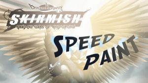 Speed Paint- Igrath SKIRMISH card side 1 by Dreamkeepers