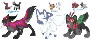 Pokemon Fusion Auctions (closed) by Mondlichtkatze