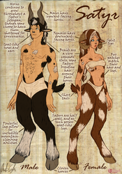 World of Dragon Queen: The Satyrs by InkRose98