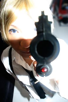 Vocaloid Famiglia: Point Blank by caillen