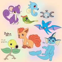 Kanto beans by Bokue