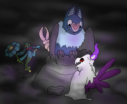 Adventures - Trader - Finding a Swoobat by Honuzer42