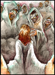 Jesus Christ Superstar-Lepers by Mothboss