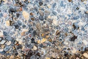 Ice and gravel by atomkat