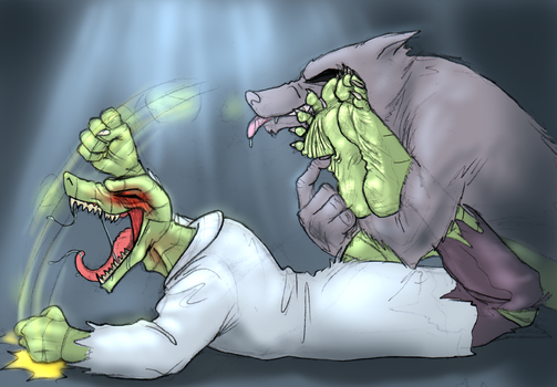 One Cruel Tickling Finger by QuintonQuill