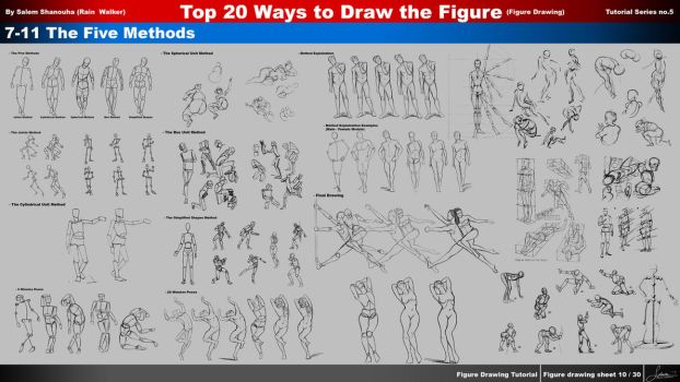 Top 20 Ways to Draw the Figure (ch7,8,9,10,11) by rainwalker007