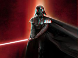 Darth Vader displacement 3-D by MVRamsey