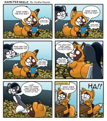 What Does The Fox Say? by Nanaki-angel23