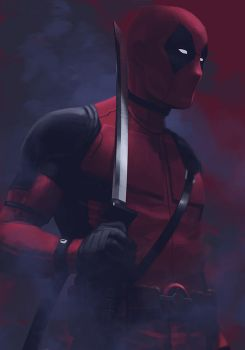 -- Deadpool -- by yvanquinet