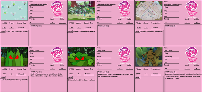 MLP - Enemy Sheets 1 by Tornado5000170