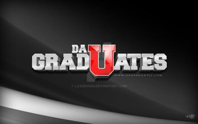 DaGradUate$ 3D Logo by LaxDesign