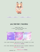 code for your page | pastel fox theme by Nature-essence
