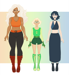 Homeworld gems human designs by Tigrelilytea
