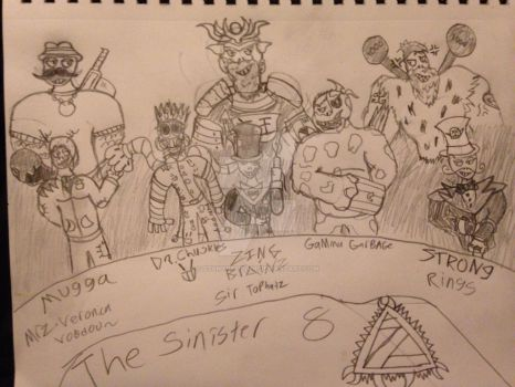 The Sinister 8 (Kingdom of Tyrants)