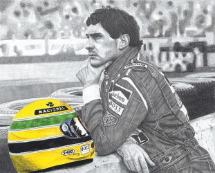Ayrton Senna by mousykat