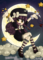 Magical Moon - ColoringContest by kri95neo