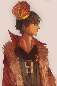 The King of The Court by Skyavii