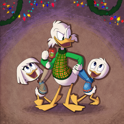 Christmas in McDuck Manor by StasySolitude